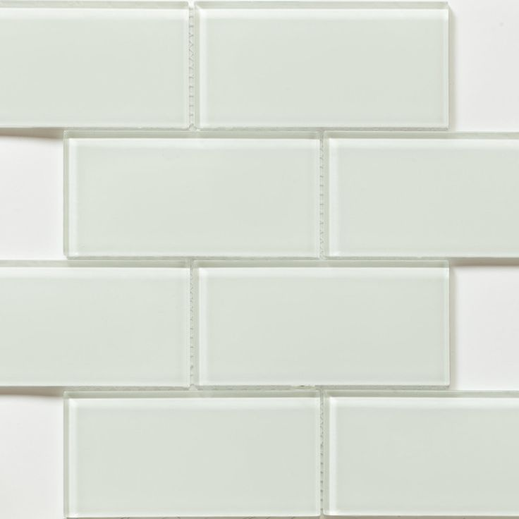 Martini Mosaic 'Blocco' Crystal Ice 14.75 x 11.75-inch Tile Sheets (Set of 10 sheets) | Overstock.com Shopping - The Best Deals on Backsplas...