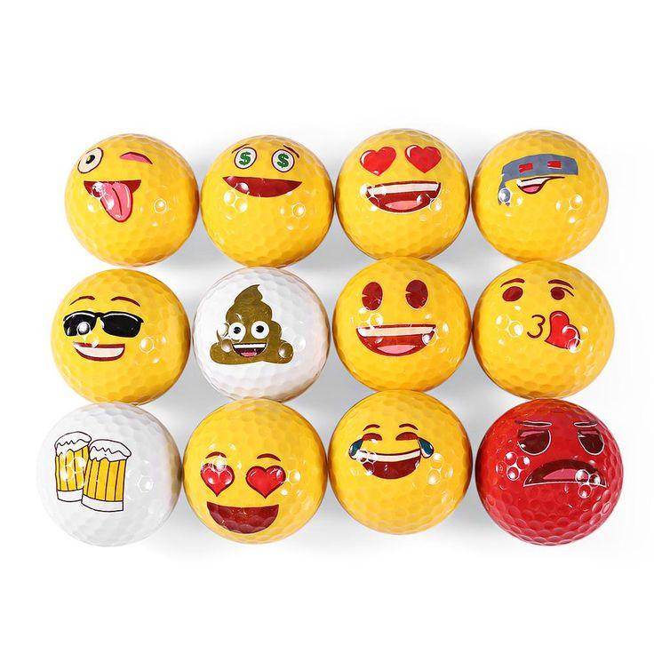 Emoji Golf Ball