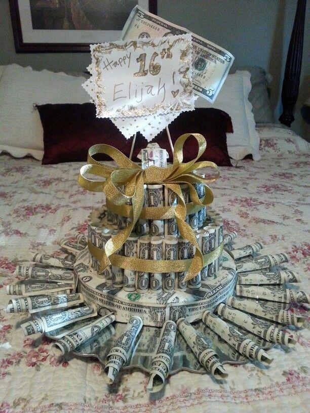 My Take On The Dollar Bill Cake 16th Birthday Ideas