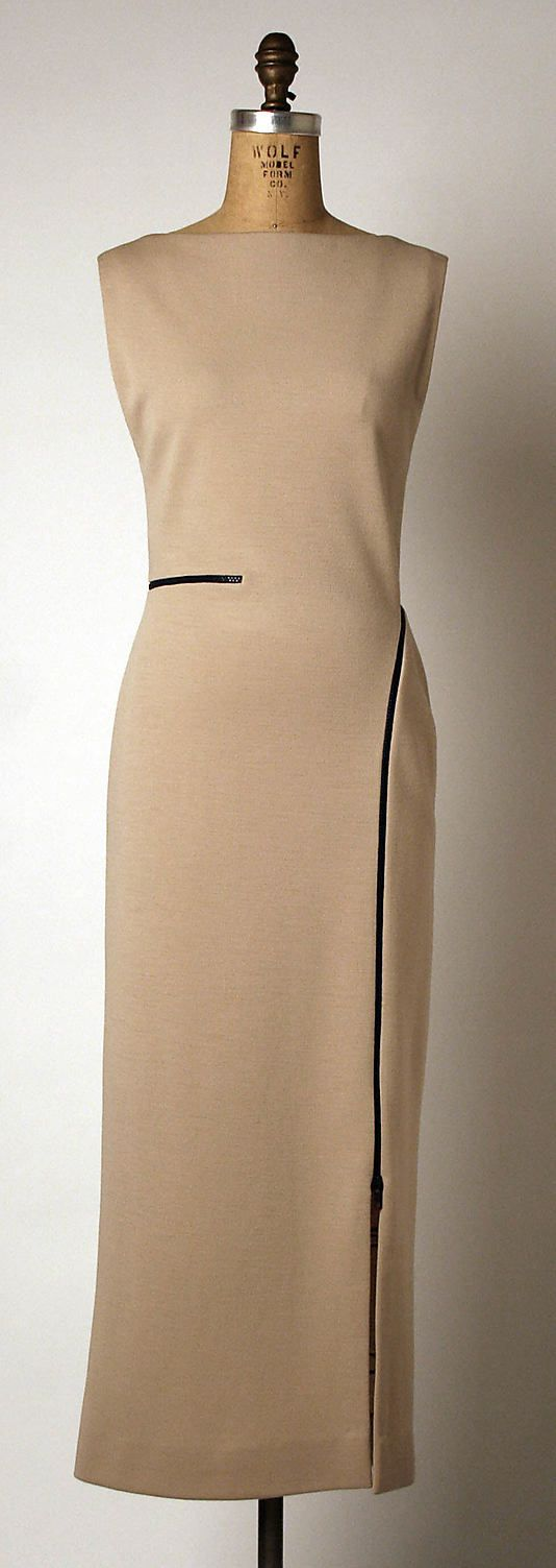 Geoffrey Beene, Wool dress, Spr 1999. Metropolitan Museum of Art