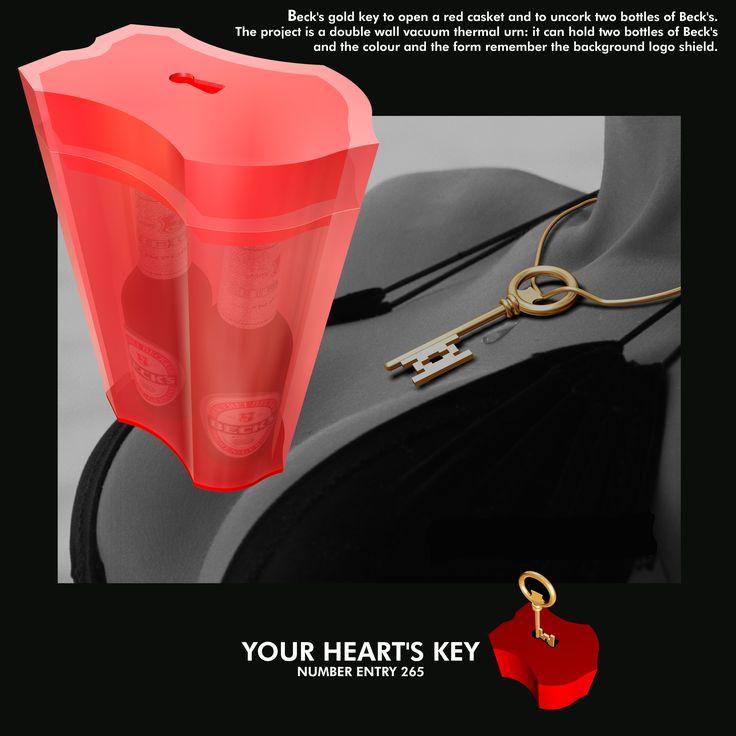 Beck's - Your Heart's Key - designer Marco Baxadonne