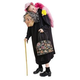 Grim Granny.  What a neat optical illusion.