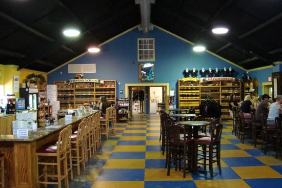 Keel and Curley Winery in Plant City, Florida is a blueberry wine specialist.