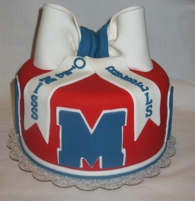 Ole Miss By Doobie on CakeCentral.com    Bet they do one for UT  :)