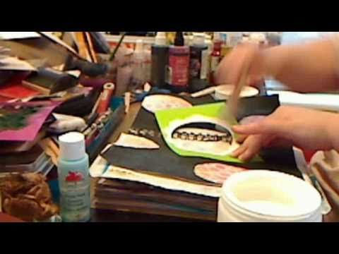 Good Tutorial - How to use colorwash with gesso by JournalArtista (lw)