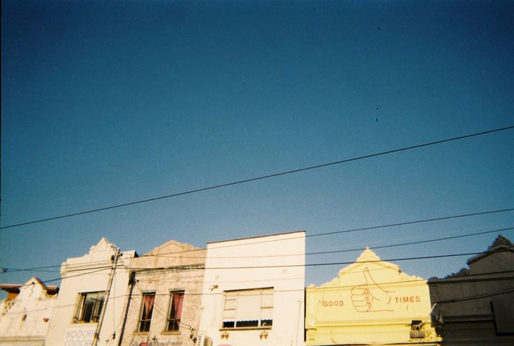 Good Times, Fitzroy North, Melbourne. 35mm Film.