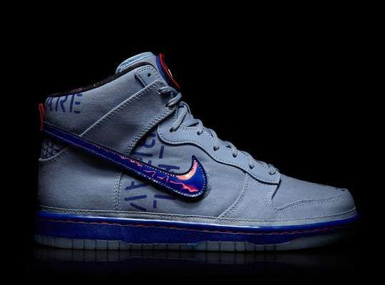 2012 Nike Dunk Galactic Pack is a must-have for every sneaker addict. This highly anticipated release features graphics and materials inspired by astronaut training suits, resulting in one gloriously geek-tastic shoe.