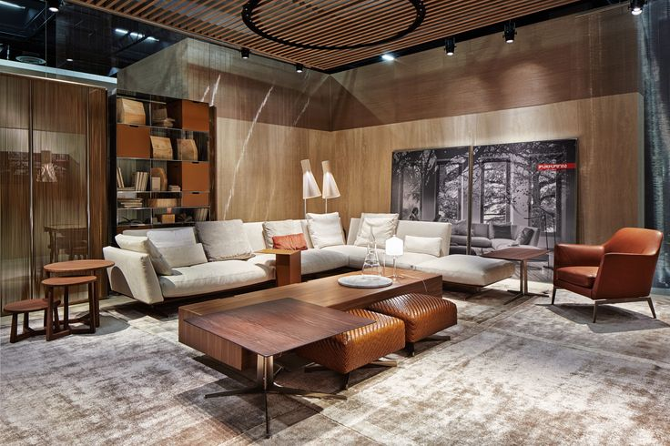 FLEXFORM EVERGREEN sectinal #sofa #design Antonio Citterio