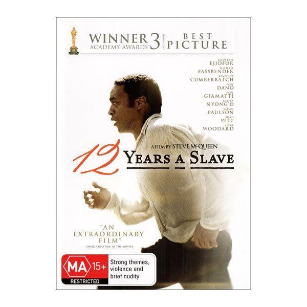 12 Years A Slave DVD Brand New Region 4 Aust.