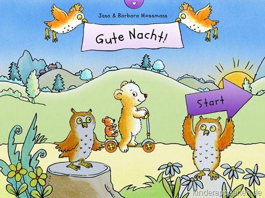 Gute Nacht App für Kinder