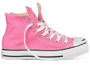 Roze Converse sneakers All Star Hi gympen