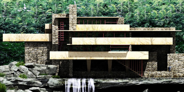 Frank Lloyd Wright my favorite architect EVER