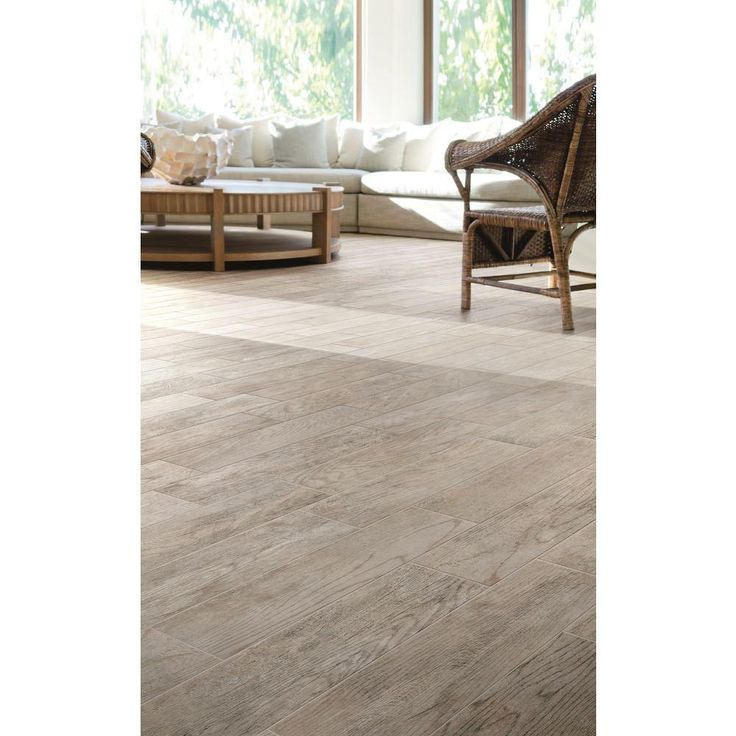 MARAZZI Montagna Dapple Gray 6 In. X 24 In. Porcelain Floor And Wall Tile  (14.53 Sq. Ft. / Case)