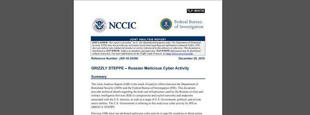 Beytullah Güneş | Kişisel Blog: FBI ve ABD İç Güvenlik Bakanlığının Rusya Hack Raporu