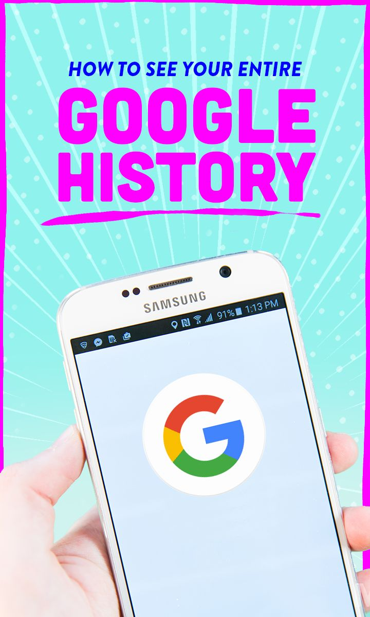 This page will show you pretty much everything you've ever done on Google, and beyond