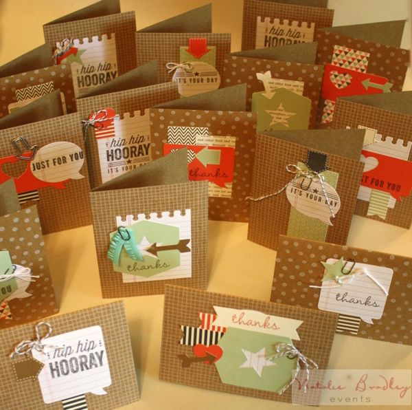 hip hip hooray card kit, stampin up, handcrafted cards - Natalie Bradley