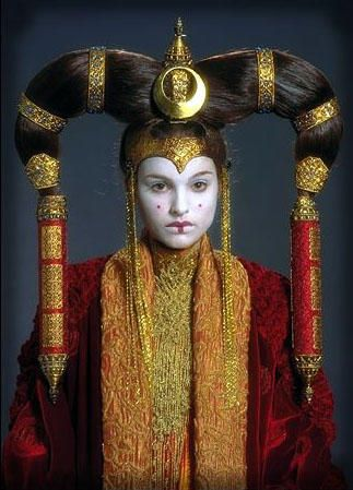 When I get the actual Mongol costumes done, I am going to have to do a Queen Amidala one as well.