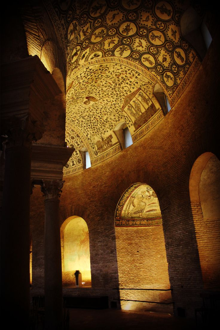 Mausoleo di Costanza, an incredible monument marking the passage form the pagan to the Christian world. Learn. Live. Love. Rome . Www.afriendinrome.it