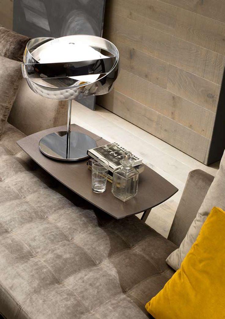 Lampa stołowa Siso M-2997 chrom Estiluz