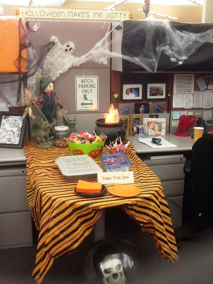 17 Of 2017 S Best Halloween Office Decorations Ideas On