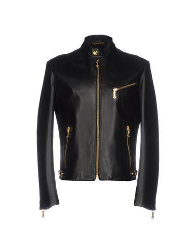 VERSACE Biker jacket. #versace #cloth #top #pant #coat #jacket #short #beachwear
