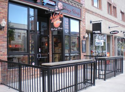Several Kelowna restaurants provide outdoor dining opportunities either in the form of sidewalk patios or rooftop patios.