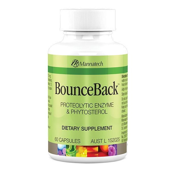 BounceBack™ Unique to Mannatech, these capsules are a proprietary blend of ingredients designed to take care of the stiffness associated with minor injuries. #sportperformance #glyconutrition #mannaproducts #mannatechaustralasia