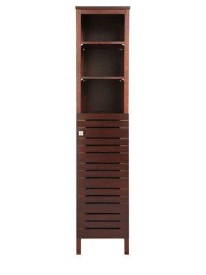Slatted Tall Bathroom Cabinet - Dark Wood, http://www.very.co.uk/slatted-tall-bathroom-cabinet---dark-wood/1119894511.prd