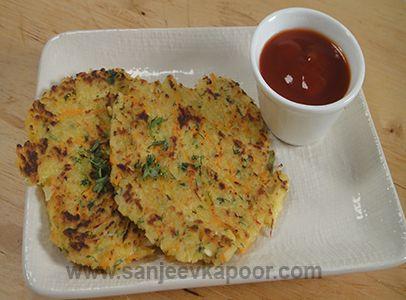 Cooked Rice Pancake