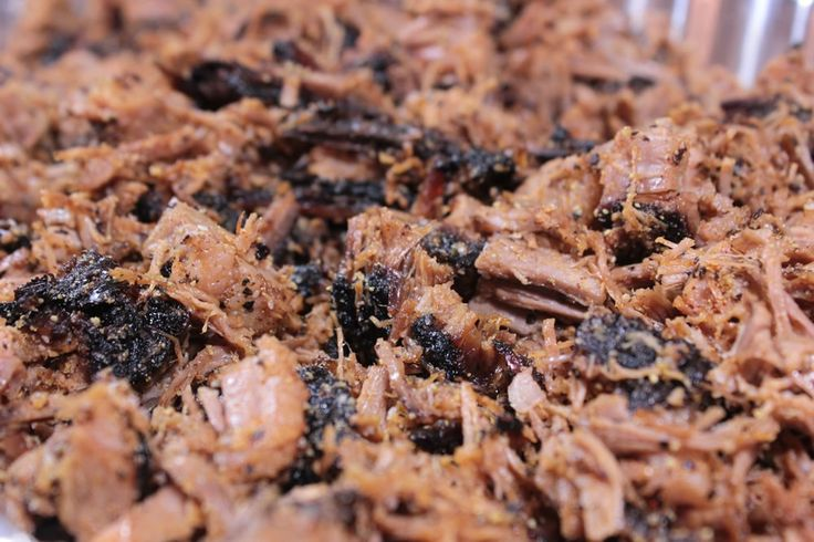 Full instructions for how to smoke a large brisket in an electric smoker then chop it up and re-smoke it to add some additional smoke flavor throughout.