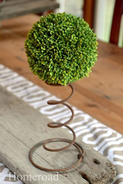 Hometalk :: As Simple as Adding a Rusty Spring...