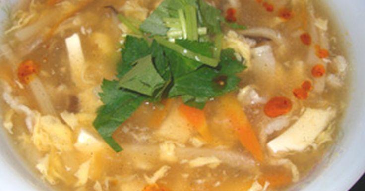 酸辣湯(すっぱ辛い中華スープ) by お気楽主婦 [クックパッド] 簡単おいしいみんなのレシピが234万品