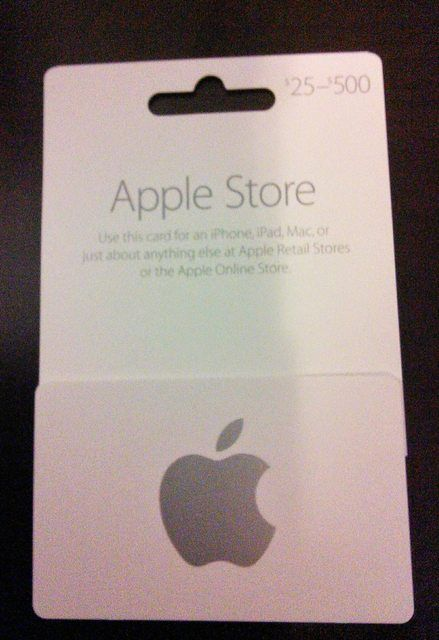 10 best apple gift card images on pinterest apple gifts gift cards and gift certificates. Black Bedroom Furniture Sets. Home Design Ideas