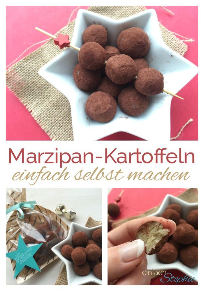 Marzipankartoffeln einfach selbst machen