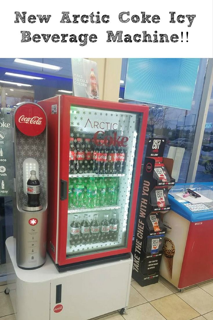 The New Arctic Coke Icy Beverage Machine is a great way to get an ice cold Coke in a bottle for on the go!See how easy it is to make at a gas station nearby. #MakeIcyMagic  AD