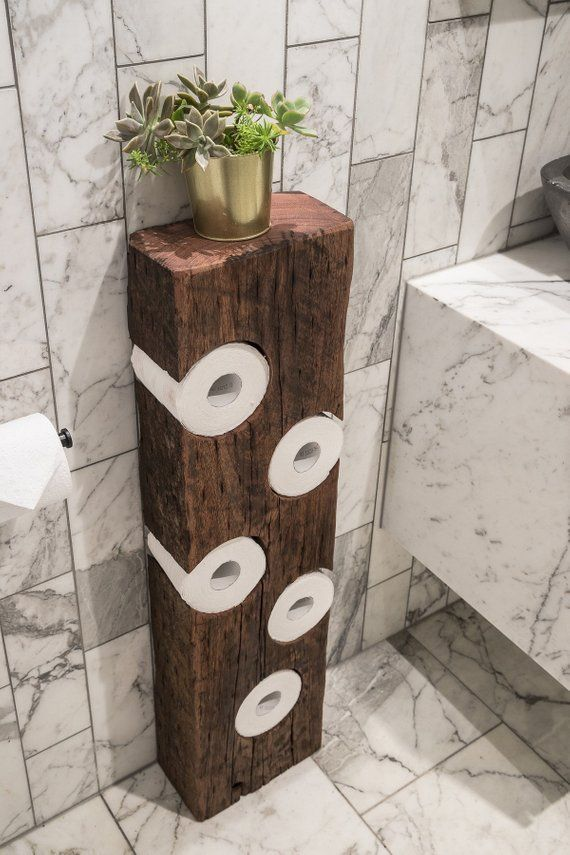 Rustic Toilet Roll Holder Bathroom Decor Toilet Paper Holder Bathroom Organization Bat With Images Rustic Toilet Paper Holders Rustic Toilets Rustic Bathroom Decor