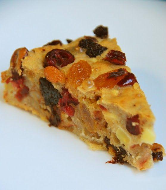 recette gâteau au fruit confit