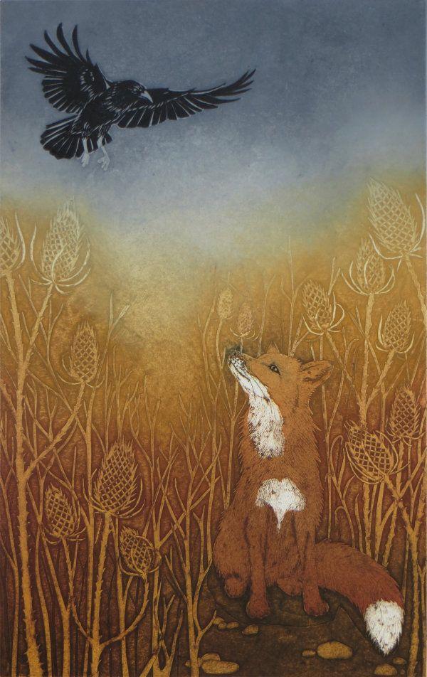 Картинки лиса и вороны