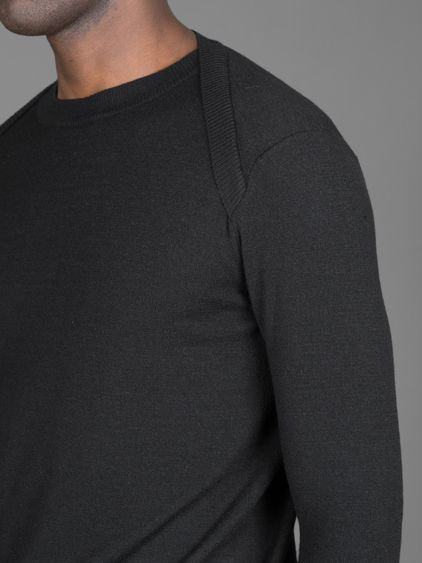 Thamanyah long doub knit jumper #thamanyah