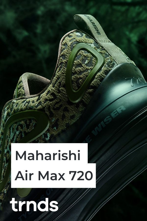 Customize the Maharishi Air Max 720 with the Wildest Camo