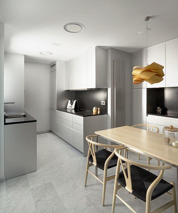 Rehabilitación integral de un ático en Barcelona, por Cm2 Disseny www.bulthaupsf.com #Kitchen #Design