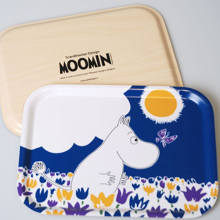 Moomin Collection Pattern Trays - Huset-Shop.com | Your House For