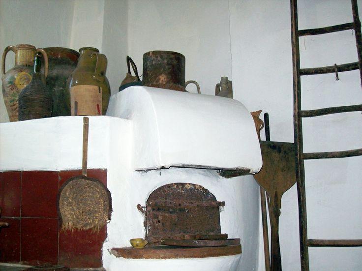 2°piano - cucina con forno a legna