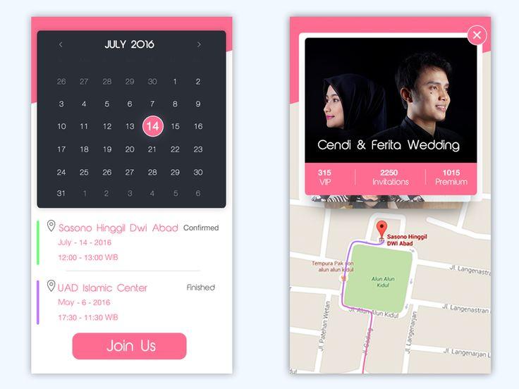 Wedding App Concept by Raditya Maulana Anuraga