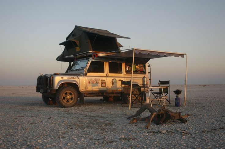 Google Image Result for http://thevagabondadventures.com/wp-content/uploads/2012/03/Land-Rover-Defender-110-with-Overland-Kit-on-Makgadikgadi-Salt-Pans.jpg