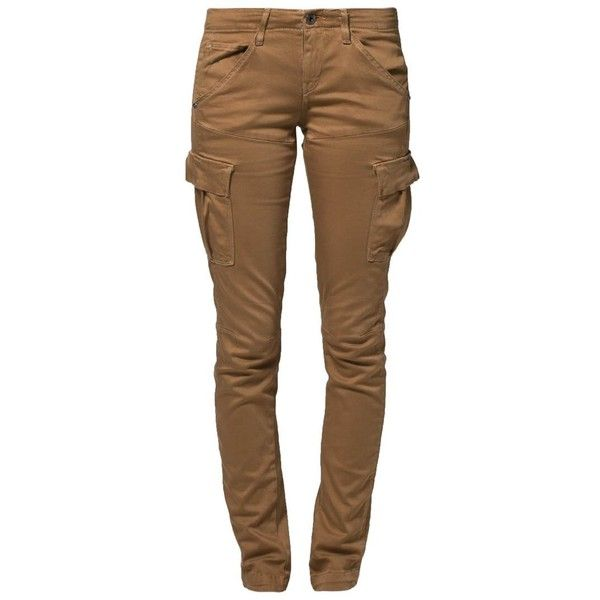 GStar TROOPER SKINNY Cargo trousers ($105) ❤ liked on Polyvore