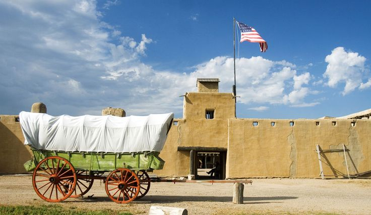 The historic Santa Fe Trail weaves through southeastern Colorado via Lamar, La Junta and Las Animas, where historic sites recall the area's pioneer past.