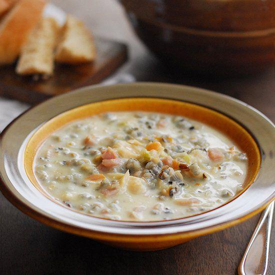 Chicken & Ham Wild Rice Soup