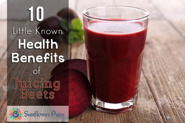 10 Little Known Health Benefits of Juicing Beets