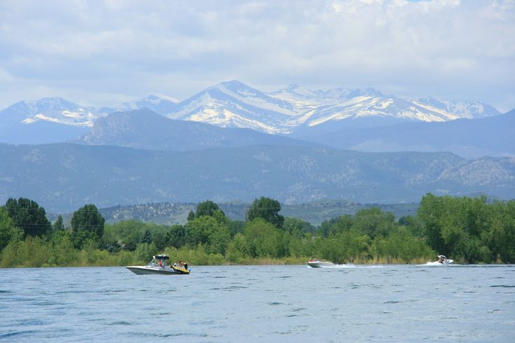 Loveland Colorado, where romance is always, in the air and on the water at Boyd Lake State Park.